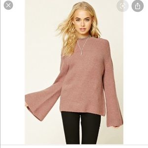 Forever 21 Mauve Sweater